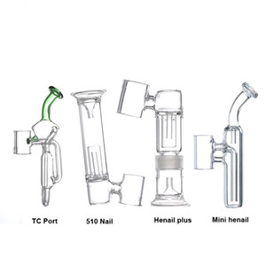 Wholesale G9 Mouthpiece Glass Piece Water Filter Pipe Bubbler Adapter Attachment for Nail Henail Plus Mini Henail TC Port