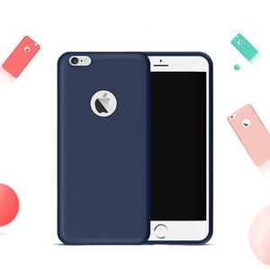 Wholesale Matte Skin Original Case for Coque iPhone TPU Rubber Back Cover Case for iPhone S Plus S SE Soft Silicone Cases