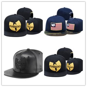 Wholesale Newest Hot Wu Tang Hat Snapback Caps Hip Hop Brand Flat Brim Baseball Cap Youth Hip Hop Cap And Hat For Boys And Girls