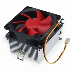 Aluminum Copper Core CPU Cooler Heatsink Fan For Desktop-Computer