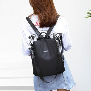 Factory direct air transport casual fashion business girl female travel backpack travel bag anti-theft Oxford cloth light 6.8