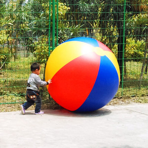 Wholesale m inflatable beach ball beach play sport summer toy children game party ball outdoor fun balloon with a pump