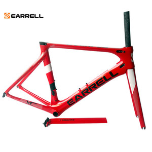 ingrosso frame moto-2018 Carbon Road Bike Frame Carbon Road Cycling Race Bicycle FrameSet Taiwan Bike Road Brompton Quadro de Bicicleta Bike Frame