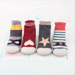 Wholesale Fashion new girls princess shoes floor shoes socks baby thin men and women baby indoor toddler spring and autumn socks