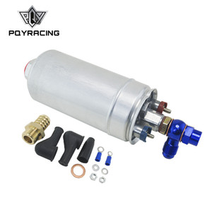 Wholesale fuel pump quality resale online - PQY RACING TOP QUALITY External Fuel Pump OEM Poulor lph Adapter Fitting PQY FPB044 FK045B FK047B