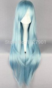Wholesale Anime Sword Art Online Asuna Yuuki Cosplay Wig Multi color With cm Long