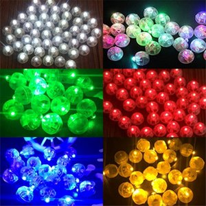 Wholesale Round Coloured Led Flash Ball Lamps Balloon Lights for Lantern Christmas Wedding Party Decoration Party Decoration