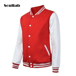 Wholesale High Quality Mens Casual Classic Simple Design Letterman Jackets unisex Man Varsity Jacket cool Colors Available designer
