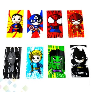 20700 Battery Wrap PVC Skin Sticker Shrinkable Wrapper Cover Sleeve Heat Shrink Re-wrapping Black cat One Piece flash Hulk Spiderman