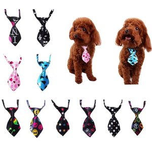 Wholesale New Adjustable Dog Cat Pet Tie Puppy Toy Grooming Silk Tie Necktie Pet Accessories Party Tie