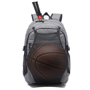 Wholesale Soccer Ball Pack Bag Gym Bags Male With Football Basketball Net Sport Backpack Men Laptop Backpack School Bag