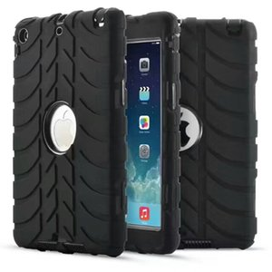 Wholesale Defender shockproof Robot Case military Extreme Heavy Duty silicone cover for ipad mini 1 2 3 4 5 6 air 1 2 2017 9.7 inch 2018 DHL