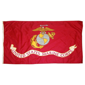 johnin 3 by 5 ft polyester united states of american USA US army USMC marine corps flag