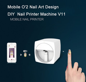 nail art printer price WIFI Function DIY Digital Nail Art Design Equipment for salon Big Promotion in new year 2019 Festival