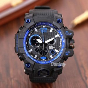 Wholesale Fashion Shock Men Sports Watches ga100 Big Dial Luxury Quartz Digital Watch For male Designer Brand PRW LED Military Mens Wristwatches