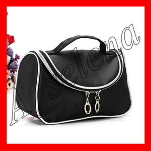 Wholesale New M brand Makeup Bag With Zipper Hot Brand Professional Waterproof Cosmetic Bags for women makeup tools packed