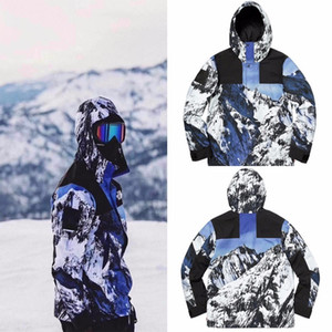 Wholesale 17FW Mountain Parka Joint Snow Mountain Jacket Man And Woman Couples High Quality Coat HFBYJK077