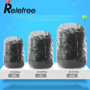 Relefree Outdoor Disposable Bike Bag Cycling Backpack Rain Cover Travel Raincover