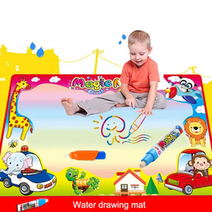 Wholesale Kids Drawing Toys Board CM Water Drawing Mat With Magic Pen Child s Coloring Painting Games
