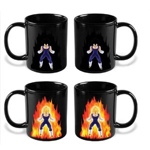 Wholesale Dragon Ball Z Mug cartoon Goku Mug Hot Color Changing Cups Super Saiyan Coffee Cups C5010