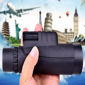 2019 New 10*42 Monocular Telescope FMC Hawk Eye Photoelectricity High Definition High Times Mobile Phone Monocular Telescope 5PCS