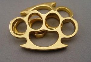2018 Brand New STEEL BRASS KNUCKLES KNUCKLE DUSTER Self Defense Protective Gear Free shipping