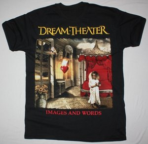 Wholesale Unique T Shirts Short Dream Theater Images And Words Crew Neck Short Sleeve Mens T Shirts