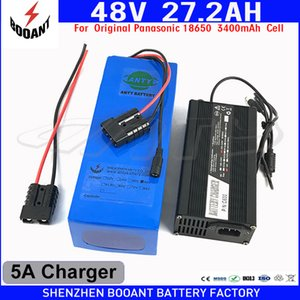 Wholesale bms for battery resale online - BOOANT V AH eBike Battery For Bafang W Motor for Original Cell Lithium Battery V Built in A BMS A Charger