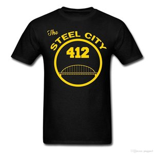 Pittsburgh Steel City Men's T-Shirt Printed Summer Style Tees Male Harajuku Top Fitness Brand Clothing T Shirt Hot Sale