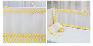 Wholesale bed rails for sale - Group buy 2Pcs Set Breathable Summer Baby Bedding Bumper Collision Half Around Baby Crib Bumpers Bedding Cotton Printing Mesh Safety Rails