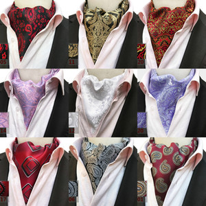 7770d77040f1 New Paisley Cravat Casual Men Ties British Style Cravat Gentleman Silk Neck  Ties Suit Scarves High Quality Fashion Handmade Necktie Floral
