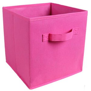 Wholesale Home Office Foldable Book Socks Ties Storage Box Cube Basket Bins Organizer Clothes Containers
