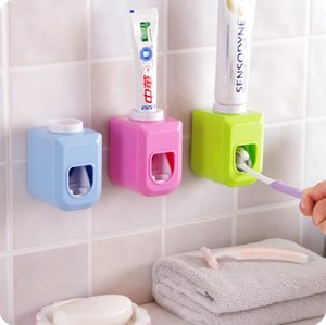 Wholesale Touch Automatic Auto Squeezer Toothpaste Dispenser Hands Free Squeeze out