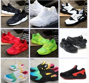 2018 hot New air Huarache Casual Shoes For Men & Women, Black White Red Sneakers Triple Huaraches Sports Shoes Size 36-45