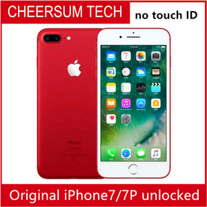 Wholesale unlocked Refurished iphone7 Original Apple iPhone plus Quad Core GB RAM GB GB GB ROM MP G Mobile phone without TOUCH ID