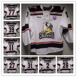Wholesale #39 Tyler Bertuzzi #48 Vili Saarjarvi #77 Svechnikov #11 D. Cleary Grand '17 CC Finals Grand Rapids Griffins Game 3 Men's Ice Hockey Jersey