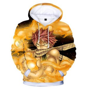 Wholesale New Hot Sale D Fairy Tail Anime Hoodies Sweatshirt Men Women Casual Print Character Sweatshirt Hoodie Long Sleeve Clothes