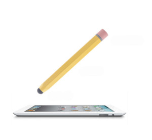 Universal Retro Pencil Stylus Pen for Tablet Phone Touch Capacitive pen Yellow