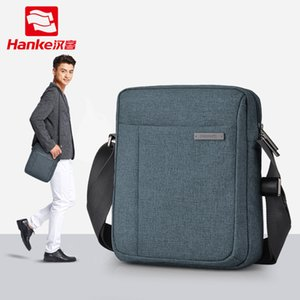 Wholesale HANKE Men bag fashion mens shoulder bags high quality Polyester casual messenger bag business men s travel bags