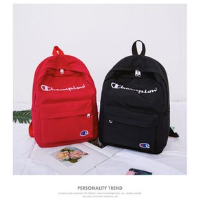 Wholesale Designer Backpacks Outdoor Sports Backpack Women Mens Backpack Brand Letter Embroidery Nylon Big Soft Casual Bags Great Quality