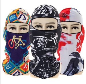 UV protection bike cycling face mask sports face guard cap bicycle balaclava masks 3d printing CS mask Tactical Hood