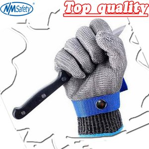 NMSafety Hig quality Safety Cut Proof Protect Glove 100% Stainless Steel Metal Mesh Butcher Gloves AISI 316L D18110705