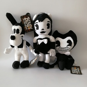 3pcs lot NEW Bendy and the Ink Machine Bendy Dog Plush Doll Toys For Chidlren Christmas Gift 11.8inch 30cm
