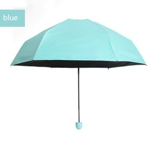 Wholesale Fashion Capsule case Umbrella Ultra Light Mini Folding Pocket Umbrella portable item by dhl hot item