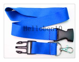 Factory direct selling! Some are pure Sky blue mobile Key chain camera ipad lanyard most girls love, free delivery