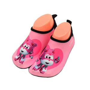 Unisex Children Quick Dry Shoes Robot Print Sport Running Anti-slip Boy Girl Mutifunctional Barefoot For Swimming Pool Beach Kids Shoe
