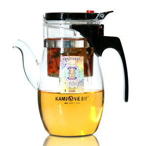 Wholesale Kamjove ml tea pot elegant cup glass tea set glass teapot tea art cup