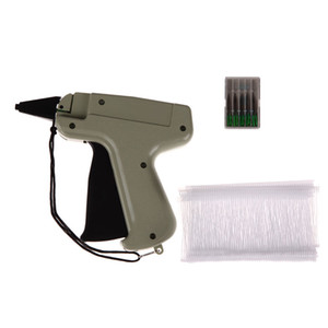 "Wholesale Hot Garment Price Label Gun Clothes Tag Gun 1000 3""Barbs + 5 Needles Set Tool Labeller Machine Pistola Etiquetadora Precio"