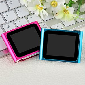 Wholesale CARPRIE MP4 Players LCD Screen th Clip Mp4 Player FM Radio Video Games Movie Support Micro SD TF td0517 dropship