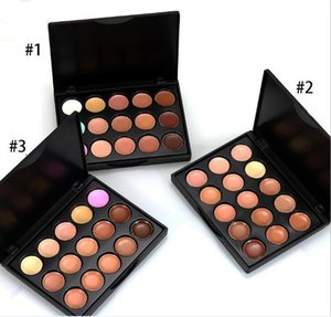 2019 Professional 15 Colors Concealer Foundation Contour Face Cream mini size Makeup Palette Pro Tool for Salon Party Wedding Daily DHL SHIP